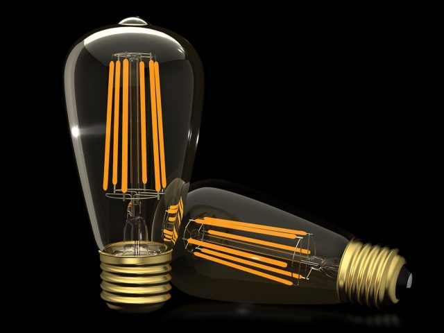 E27 Antique Filament LED 7W