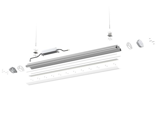 LED Linear High & Low Bay