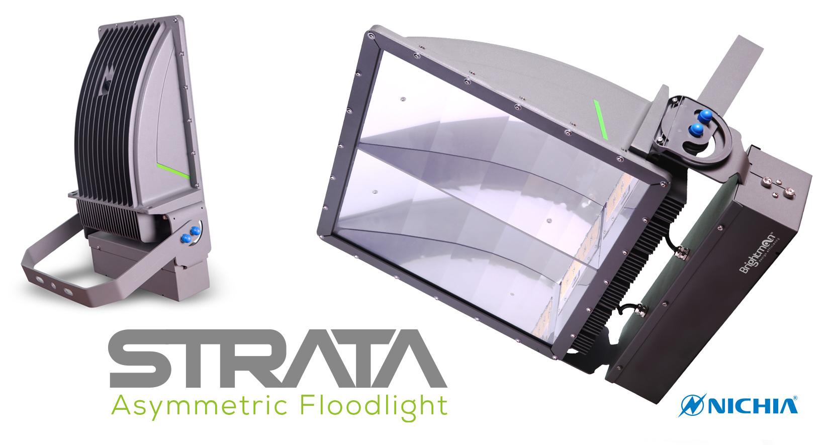 Strata LED Floodlight banner