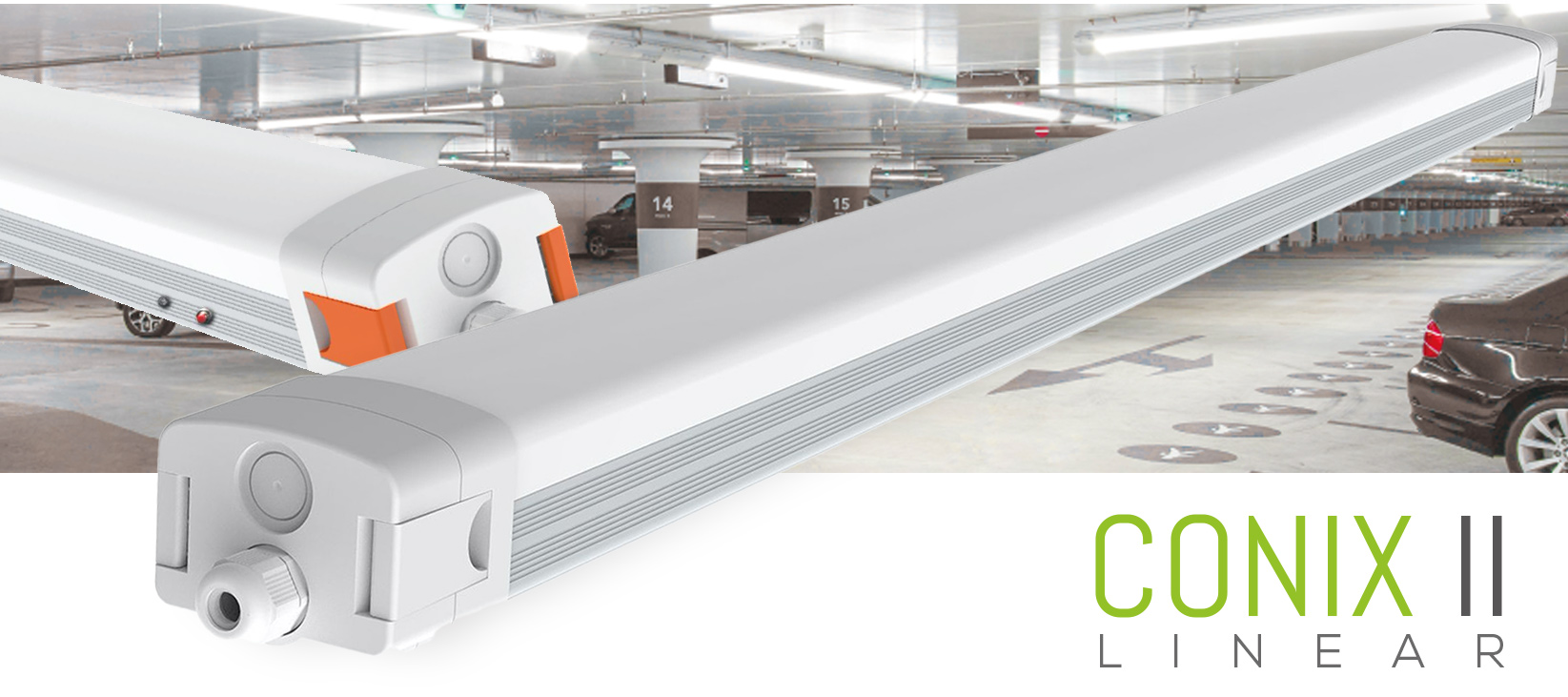 Conix 2 LED Linear